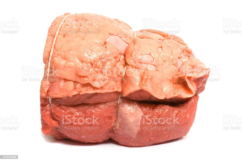 Beef Roast side view royalty-free stock photo