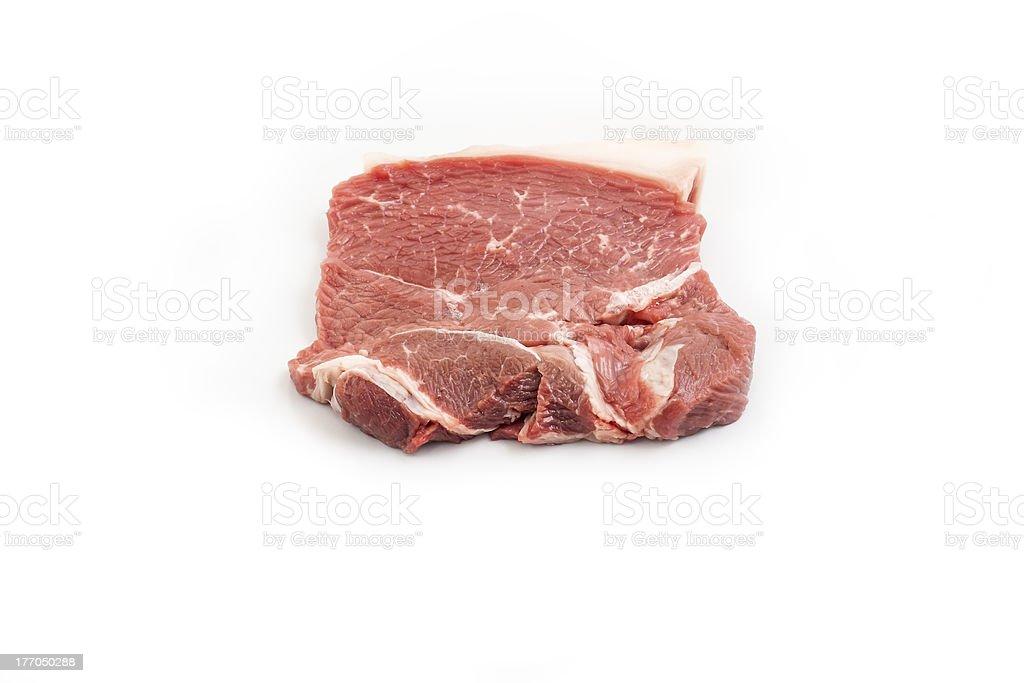 Beef rump royalty-free stock photo