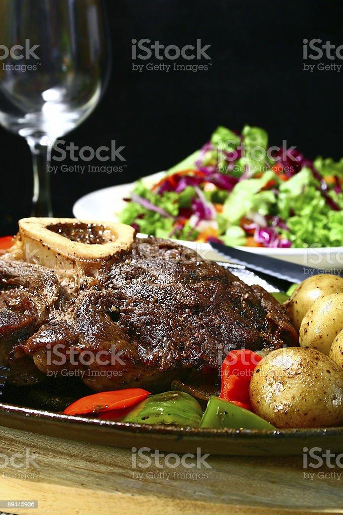 beef shank royalty-free stock photo