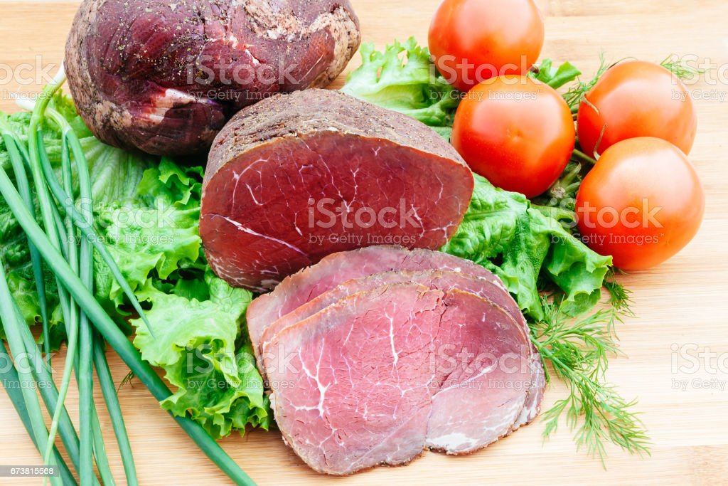 füme domates soğan sığır eti royalty-free stock photo