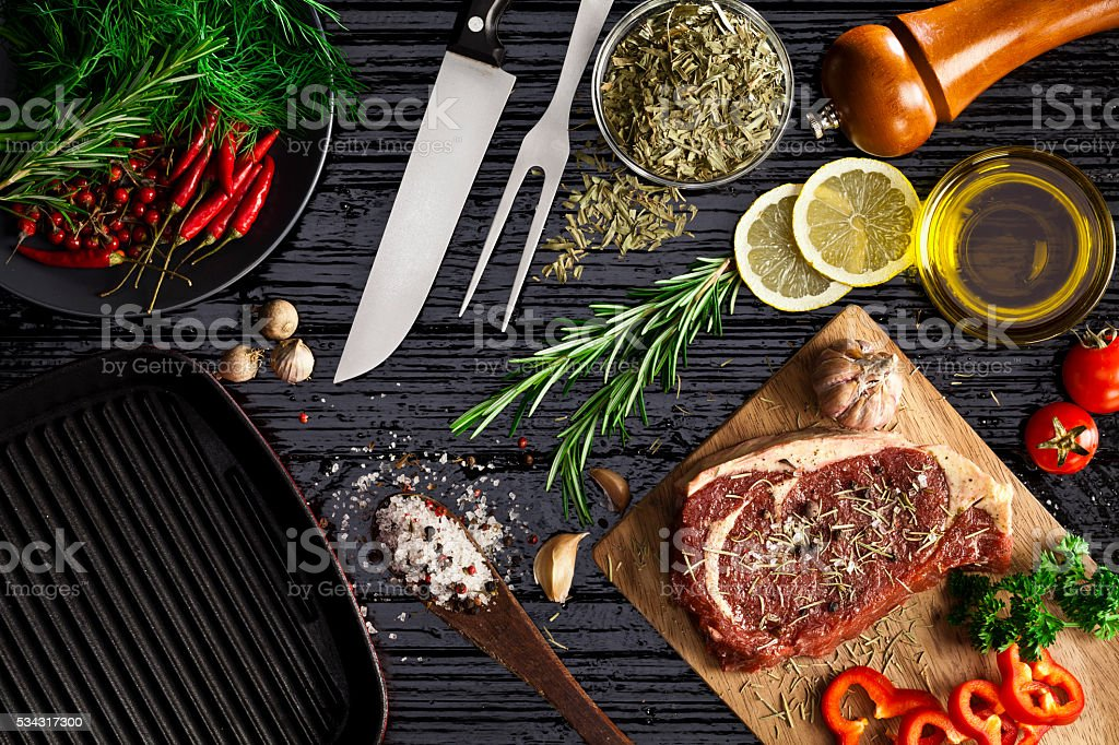 Beef steak fillet royalty-free stock photo