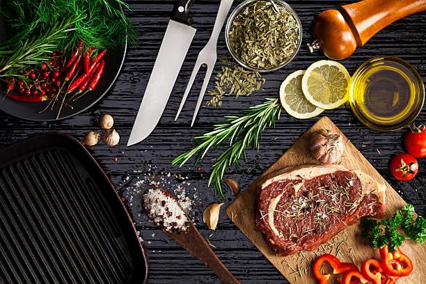 Beef steak fillet stock photo