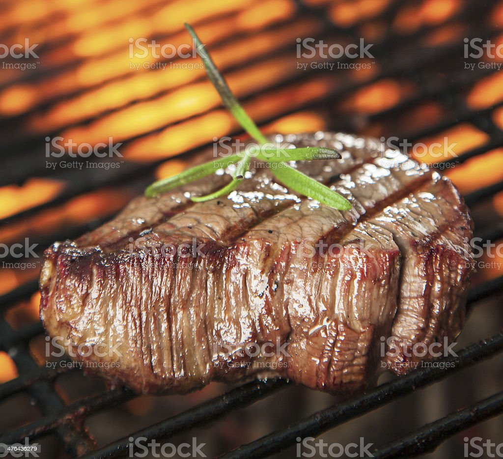 Beef steaks stock photo
