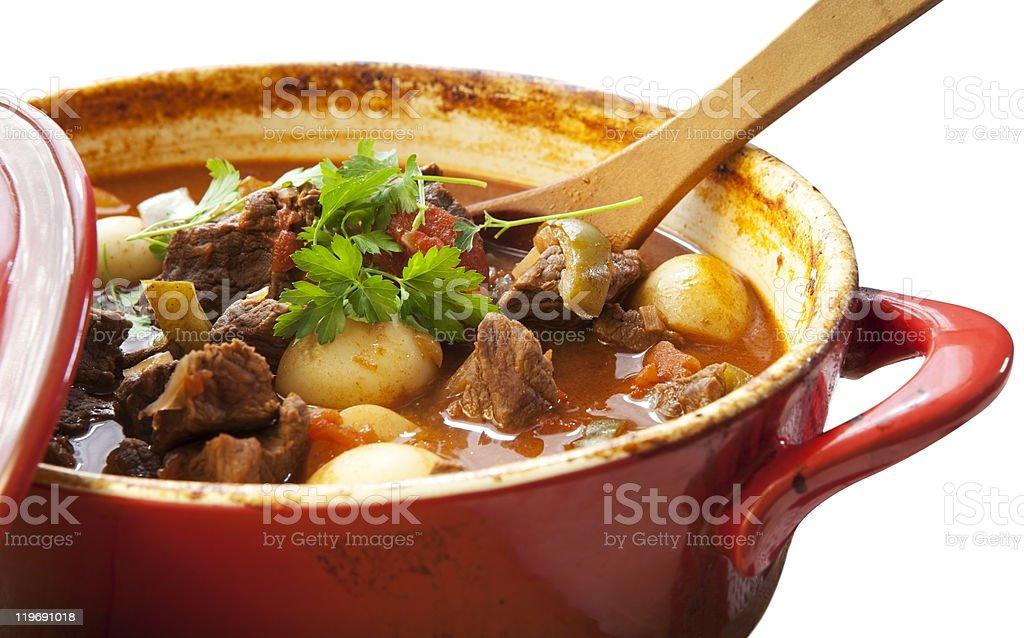 Beef Stew stock photo