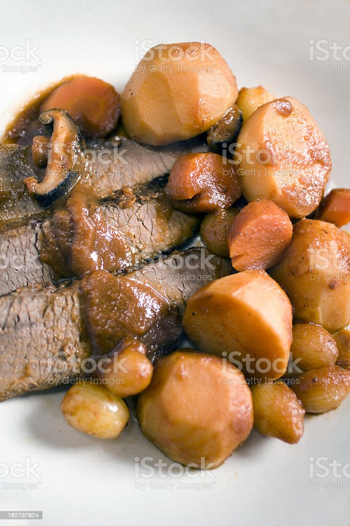 beef stew royalty-free stock photo