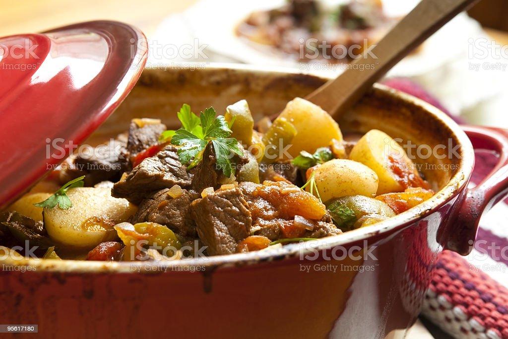 Beef Stew - Royalty-free Aardappel Stockfoto