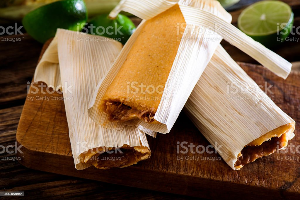 Beef Tamales stock photo