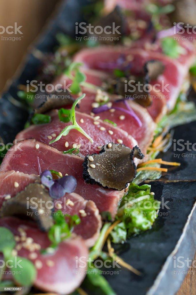 Beef tataki royalty-free stock photo