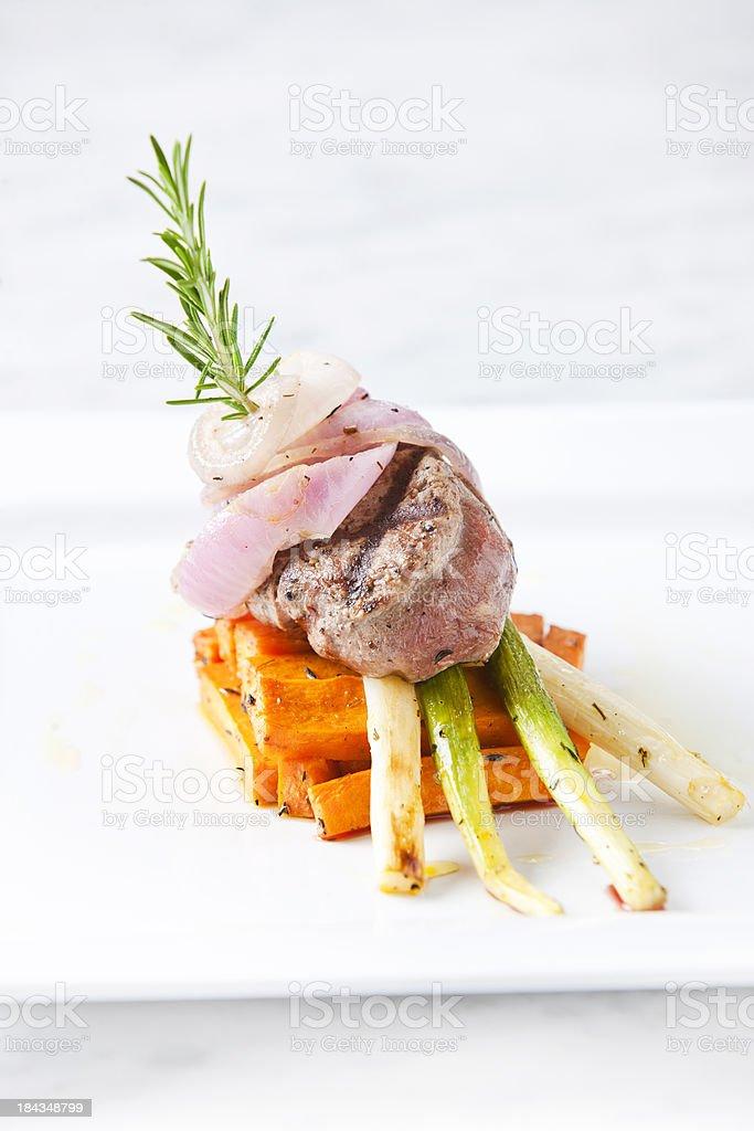 Beef tendeloin royalty-free stock photo