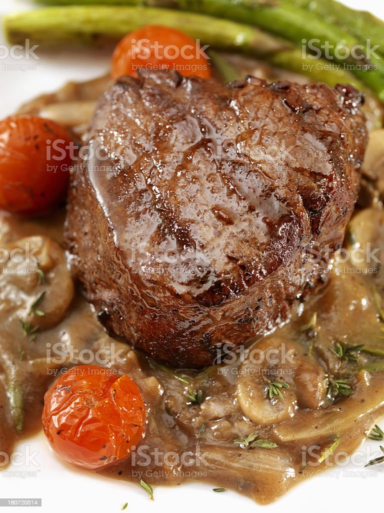Beef Tenderloin Steak royalty-free stock photo