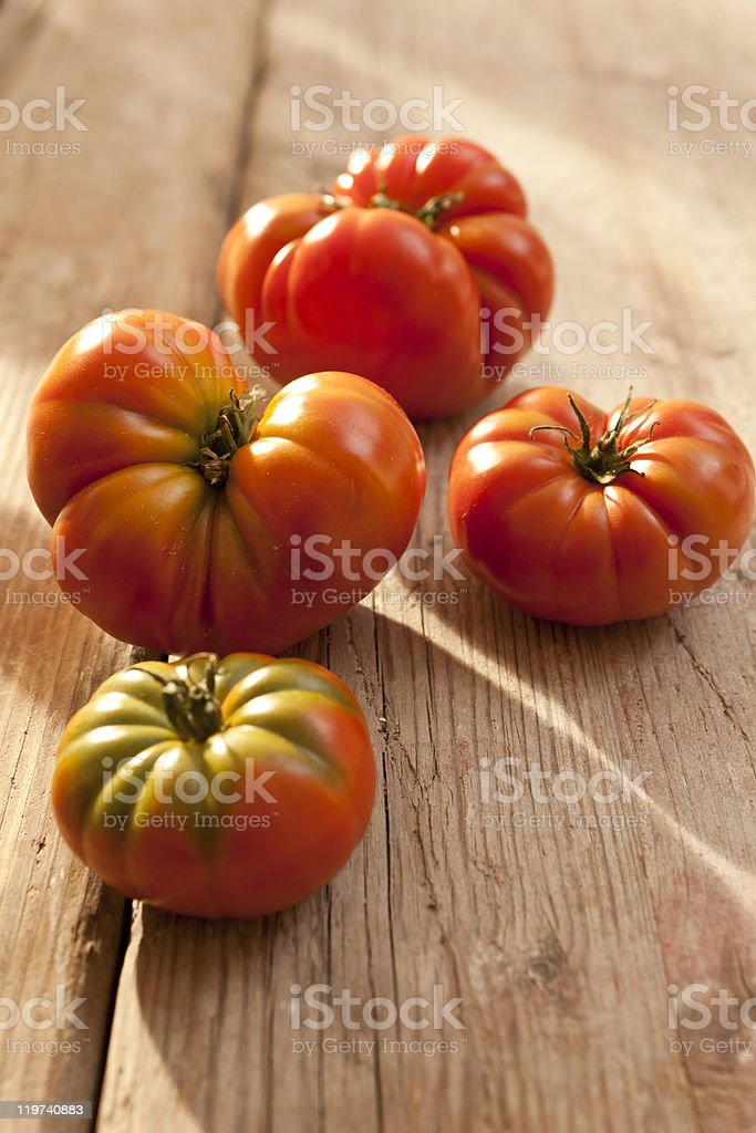 Beef tomatoes royalty-free stock photo