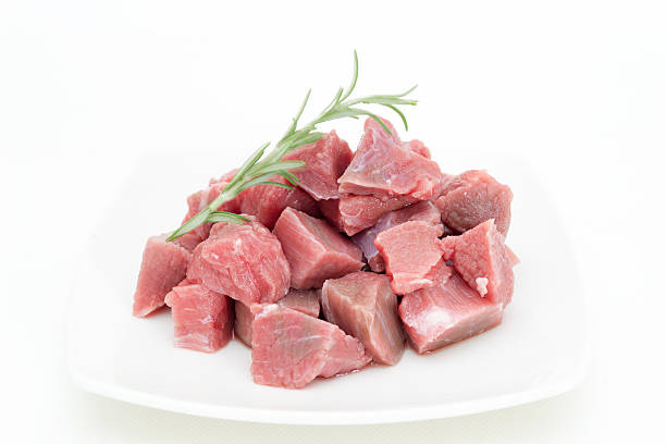 Beef veal for stew – Foto