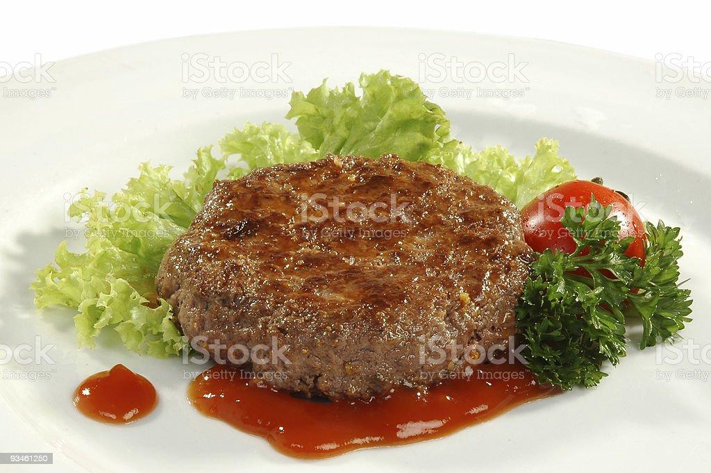 beefsteak royalty-free stock photo