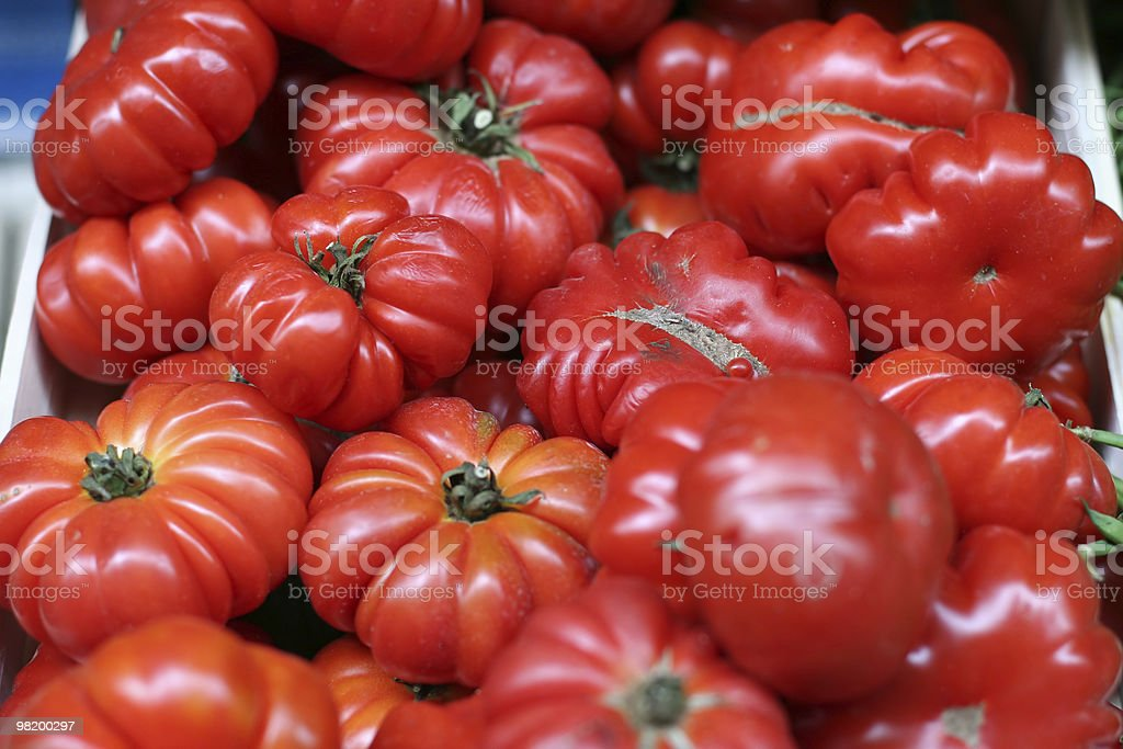 Beefsteak Tomato royalty-free stock photo