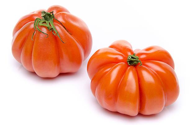 Beefsteak tomatoes stock photo
