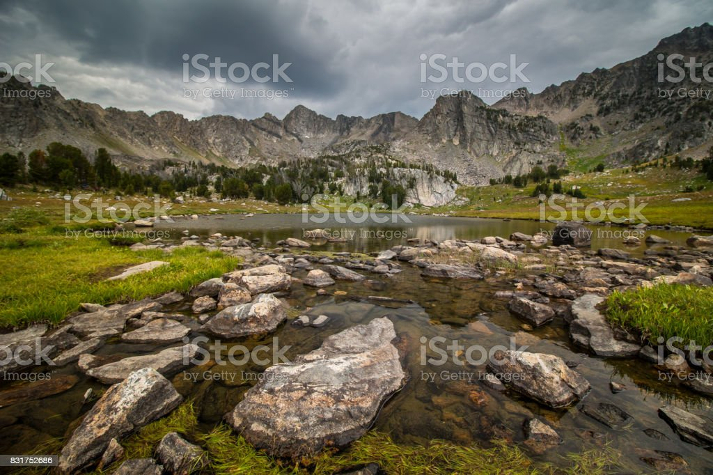 Beehive Basin stock photo