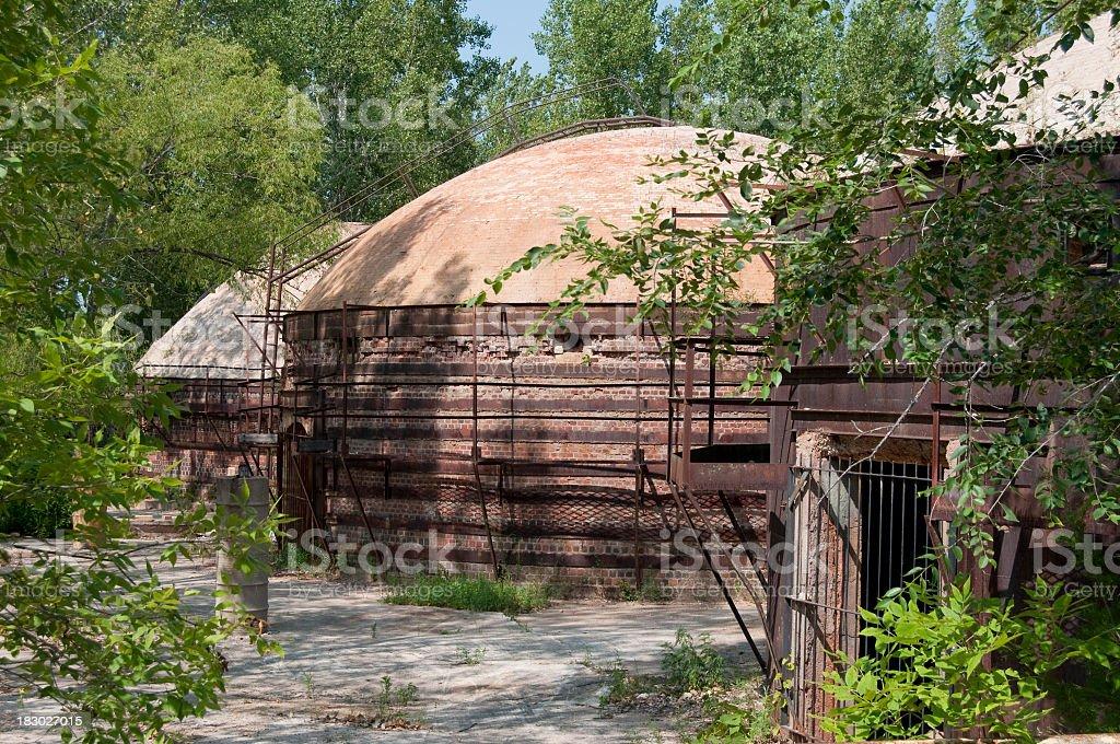 beehive kilns stock photo