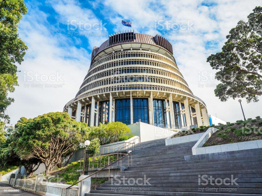 Bienenstock, Executive Wing der neue Zealand Parlamentsgebäude in Wellington City. – Foto