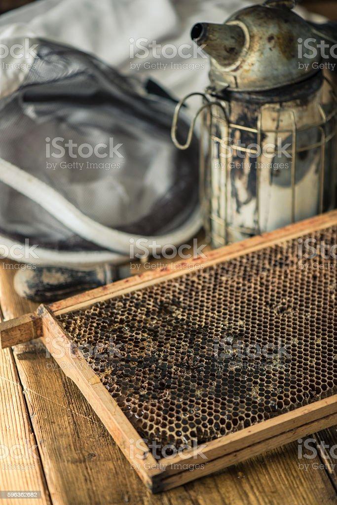 beekeeping tools royalty-free stock photo