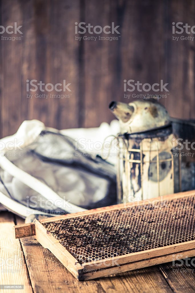 beekeeping tools royalty-free stock photo