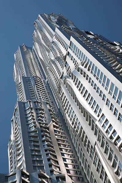 Beekman Tower in Manhattan stock photo