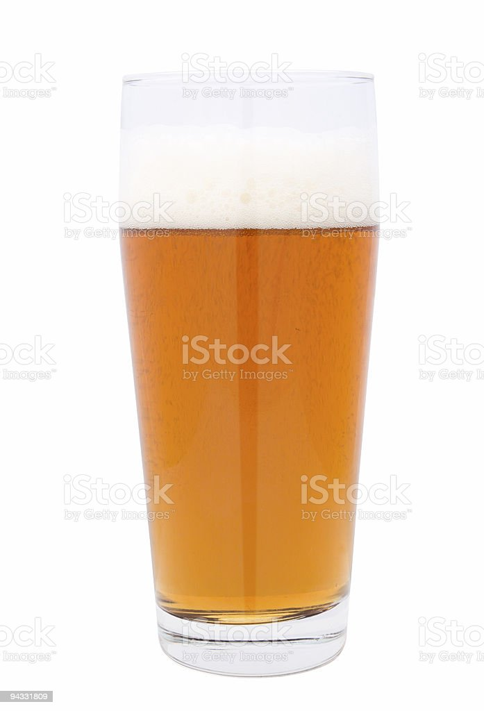 Beer 01 (clipping path) royalty-free stock photo