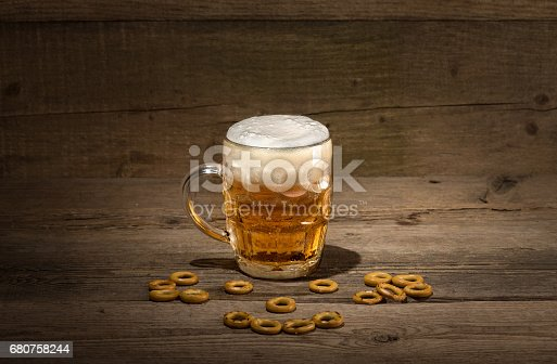 Пиво и чипсы Stock Photo & More Pictures of Alcohol