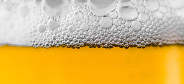 Beer and foam colorful background - foto stock