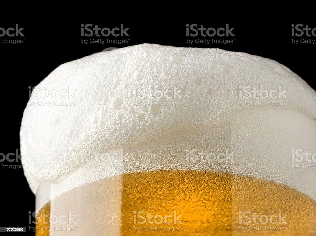Bier mit Schaum – Foto