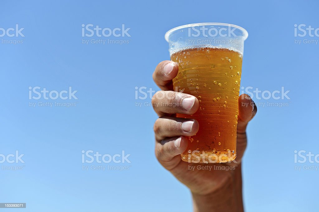 Beer! At a Mexican 'All-Inclusive' Resort stock photo