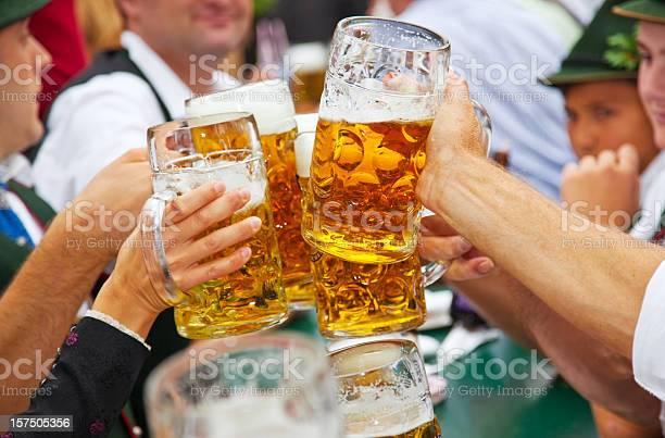 Beer at Oktoberfest in Munich, Germany