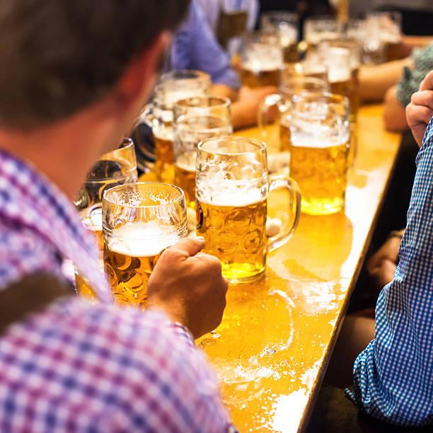 Bier Oktoberfest in München, Deutschland – Foto