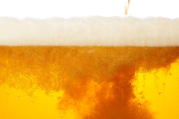 beer background image - beer pour stock photos and pictures