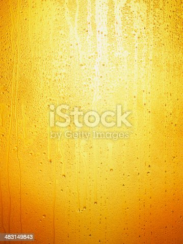 Beer Background with condensation - Water drops