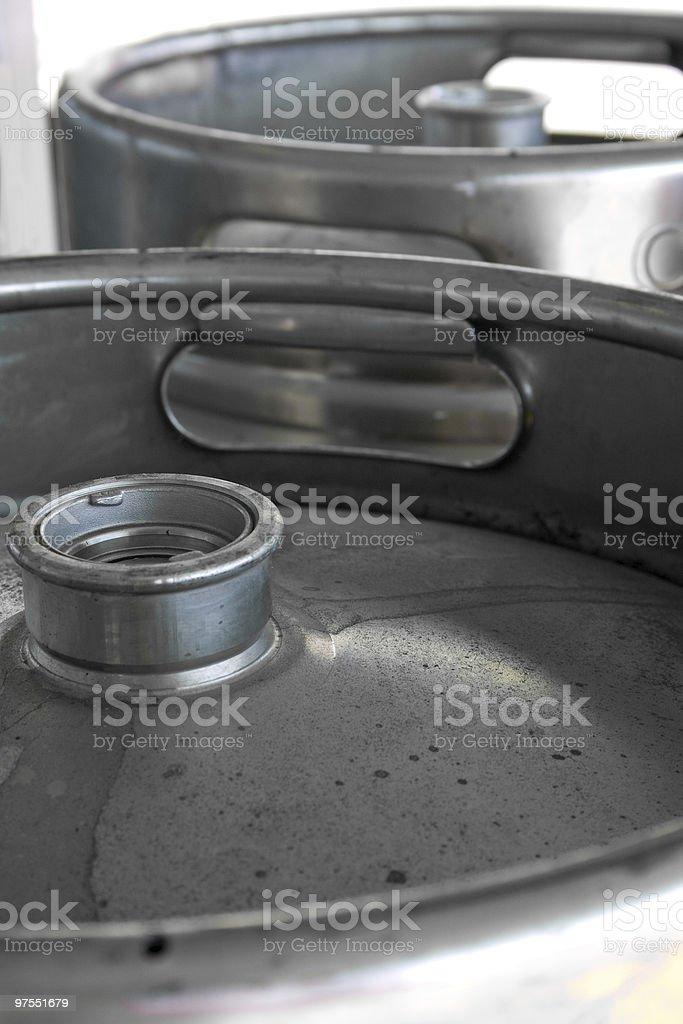 Tonneaux de bière photo libre de droits