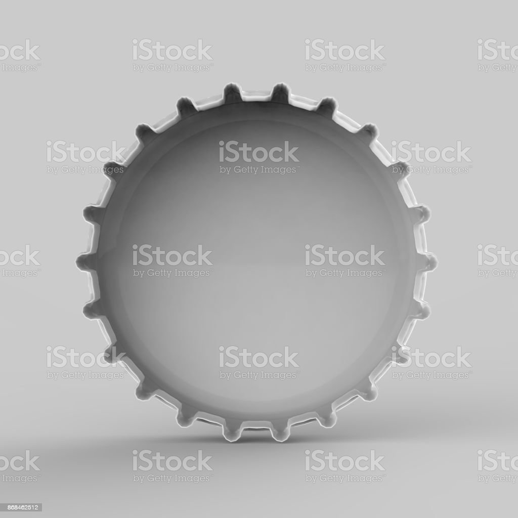 94ec3a4b02c Beer Bottle Cap Mock Up Stock Photo   More Pictures of Alcohol