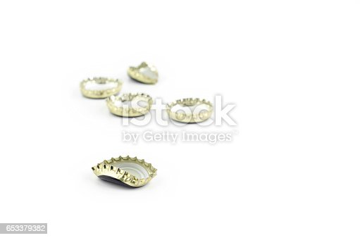 istock Beer Bottle Caps 653379382