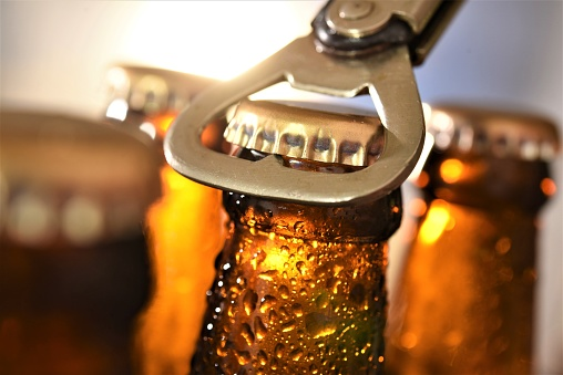 beer bottle opening