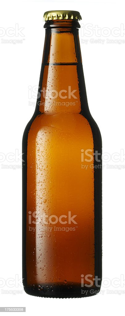 Botella de cerveza - foto de stock