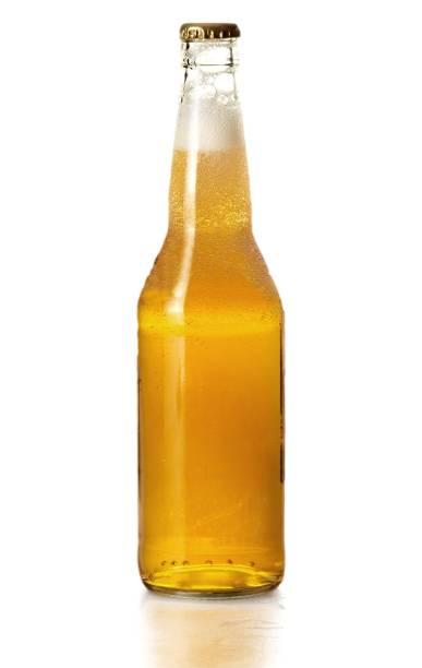 Beer bottle. stok fotoğrafı