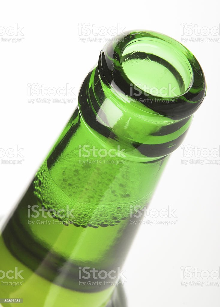 Bottiglia di birra foto stock royalty-free
