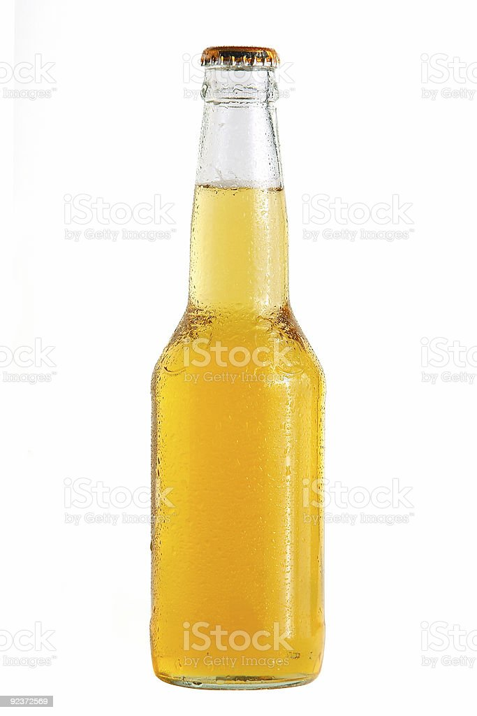 beer bottle #2 royalty-free stock photo