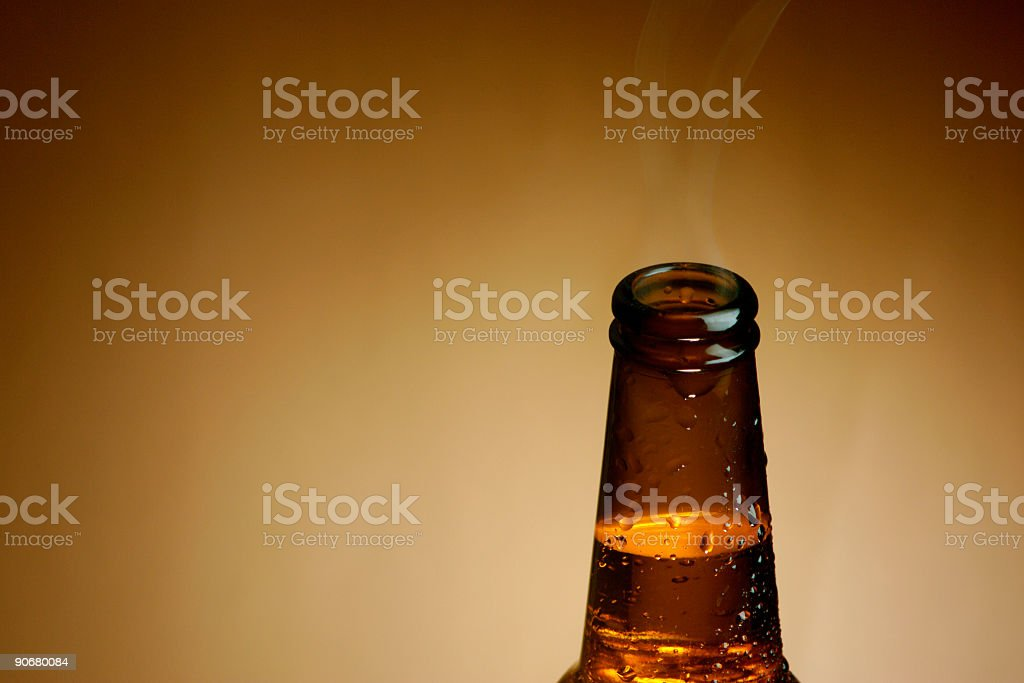 Beer Bottle Top01 royalty-free stock photo