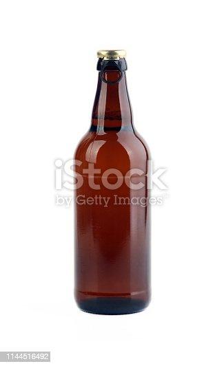 Beer bottle with cap