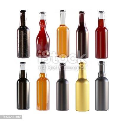 istock Beer Bottles different types 1094202152