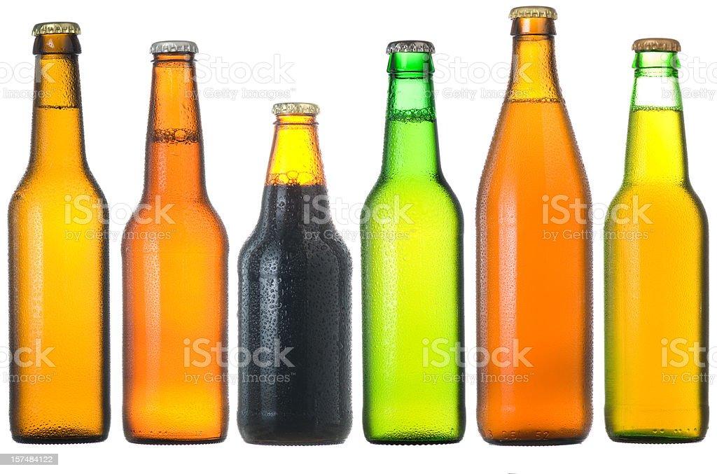 Botellas de cerveza - foto de stock