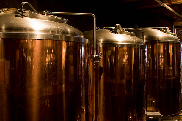 beer brewery - brewery stock pictures, royalty-free photos & images