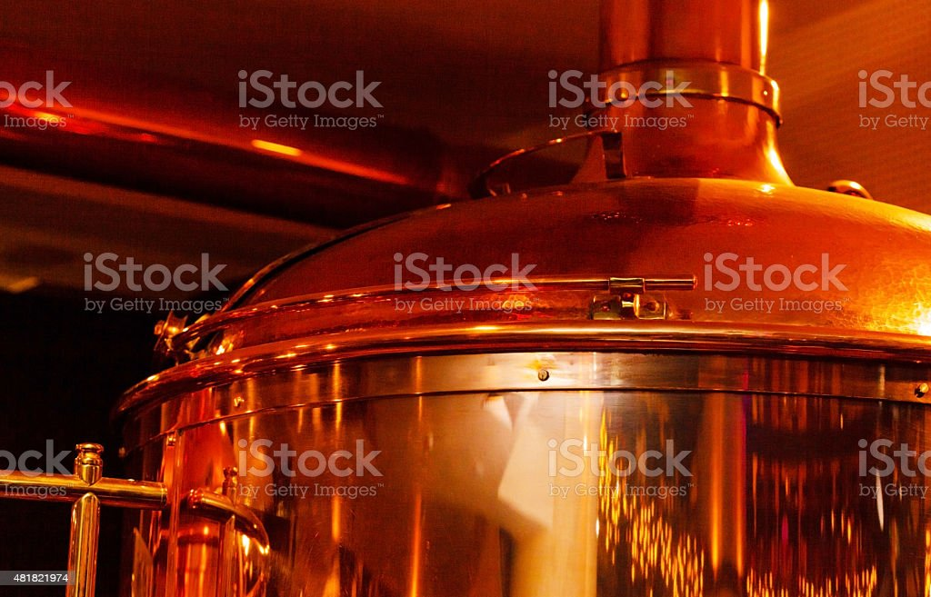 Beer brewery stock photo