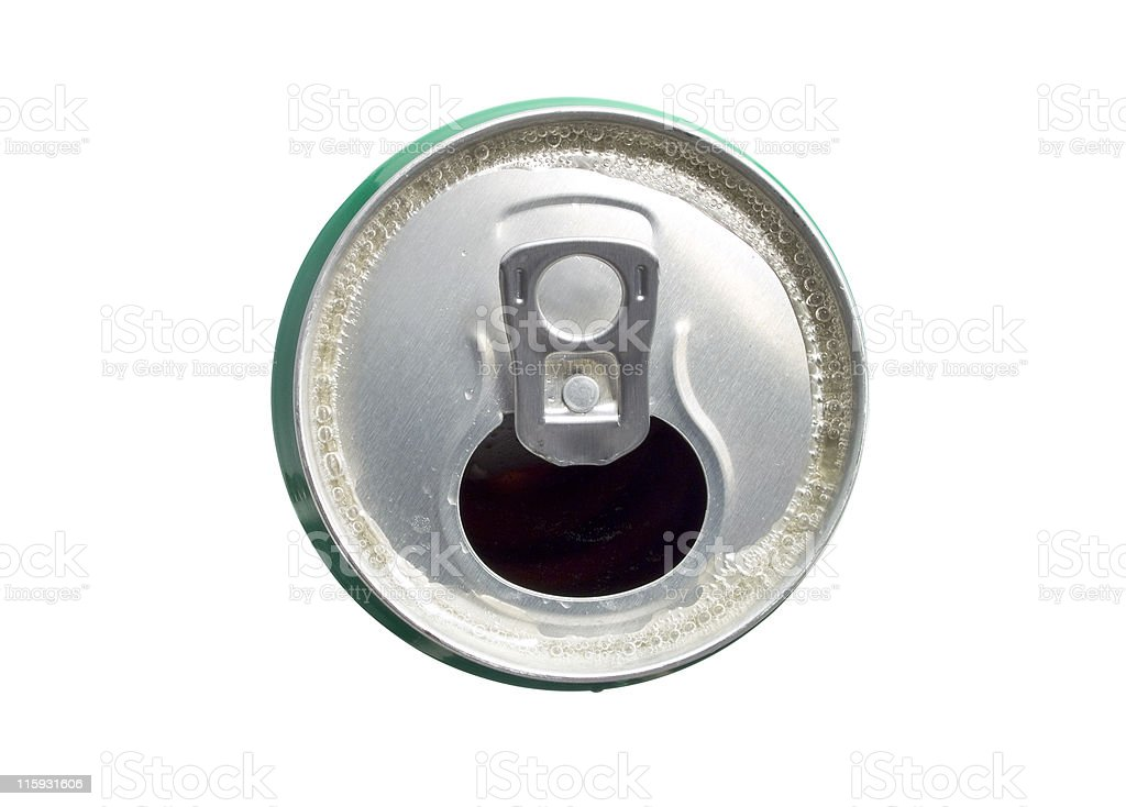 Beer Can (open) royalty-free stock photo
