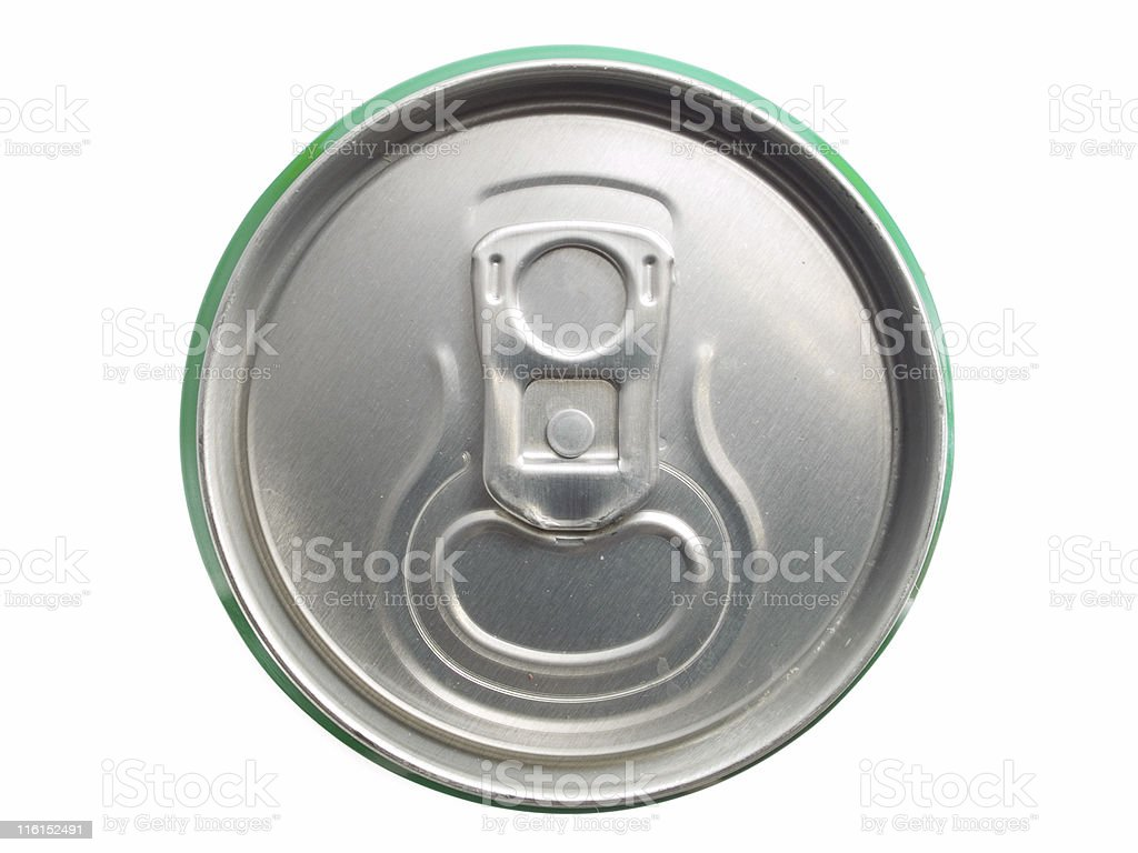 Beer Can (not open) royalty-free stock photo